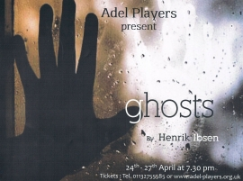 Adel Players Ghosts poster