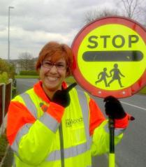 Cheryl, Community School Crossing Patrol Warden